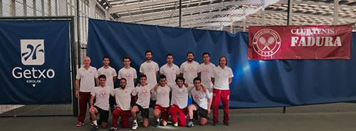 El Club de tenis Fadura entre los 12 mejores equipos nacionales