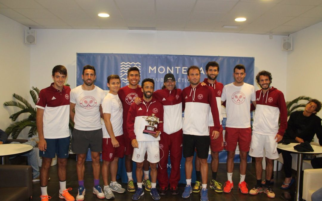 El CT Fadura hace historia y sube a primera en el Campeonato de España por equipos